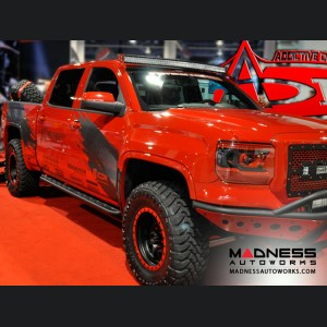 GMC Sierra 1500 Side Steps by Addictive Desert Designs - Crew Cab