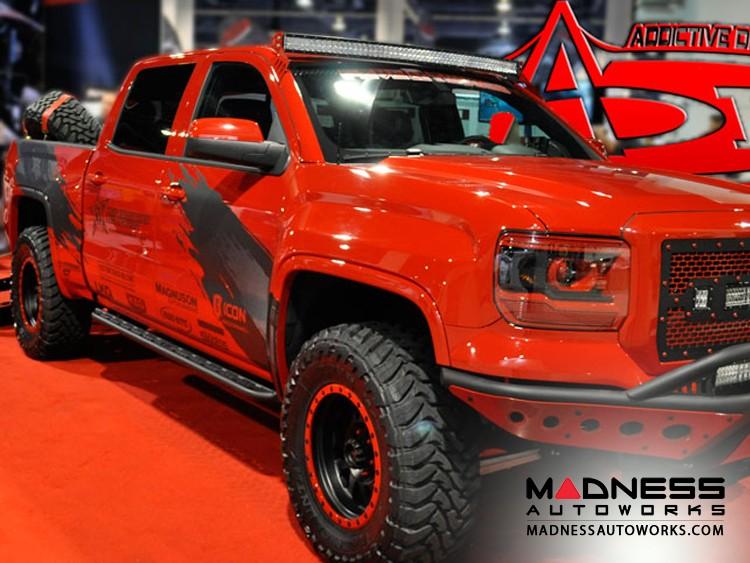 Chevrolet Silverado 1500 Side Steps by Addictive Desert Designs - 4 Door