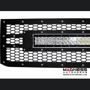 """Chevrolet Silverado 2500/ 3500 30"""" RDS LED Light Bar Front Grille by Rigid Industries - 2015 - Light Included"""