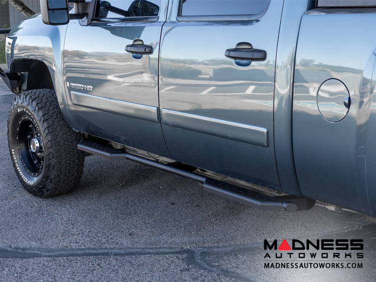 GMC Sierra 1500/ 2500 Stealth Side Steps by Addictive Desert Designs - Crew Cab - 2003+
