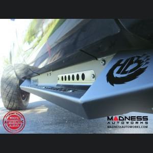 GMC Sierra 1500/ 2500/ 3500 Honey Badger Side Steps by Addictive Desert Designs - Crew Cab - 2007+