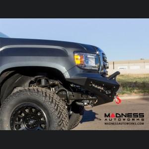 Chevrolet Colorado Honey Badger Front Bumper w/ Winch Mount by Addictive Desert Designs - 2015+