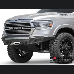 Dodge Ram 1500 Stealth Fighter Winch Front Bumper w/ Sensors
