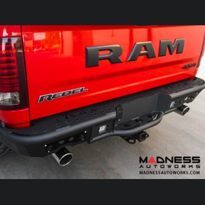 Dodge Ram Rebel Stealth Rear Bumper w/ Backup Sensor Cutouts