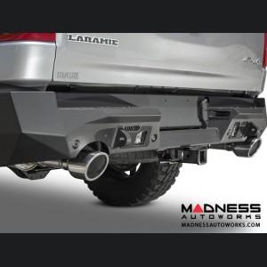 Dodge Ram Rebel Stealth Fighter Rear Bumper w/ 4 Backup Sensor Cutouts