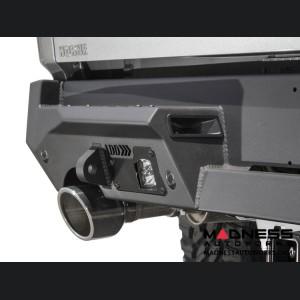 Dodge Ram Rebel Stealth Fighter Rear Bumper w/ 6 Backup Sensors