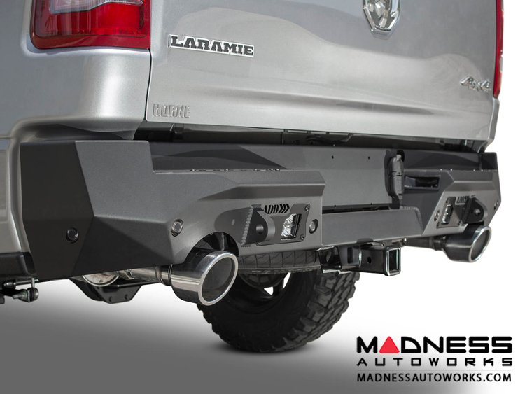 Dodge Ram Rebel Stealth Fighter Rear Bumper w/ 6 Backup Sensors