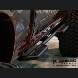Dodge Ram 3500 Stealth Side Steps - Black Powdercoat - 4 Door