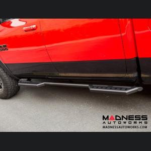Dodge Ram 1500 Stealth Side Steps - Black Powdercoat - 4 Door