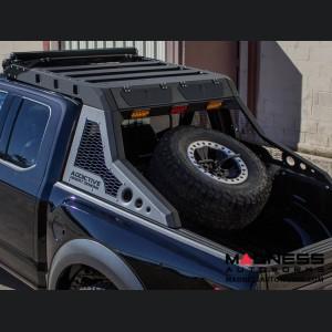 Ford Super Duty Honeybadger Tire Carrier Add-on - Medium Rack