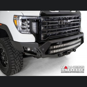"GMC Sierra 2500 Bomber Front Bumper w/ 2 40"" LED Light Bars"