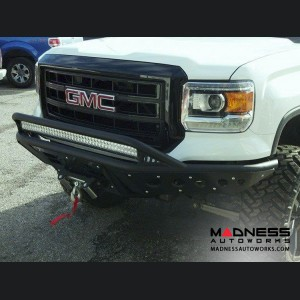 GMC Sierra 1500 Stealth Front  Bumper w/ Winch Mount by Addictive Desert Designs - 2014-2015