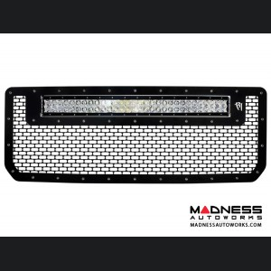 "GMC Sierra 2500/ 3500 30"" RDS LED Light Bar Front Grille by Rigid Industries - 2015 - Light Included"