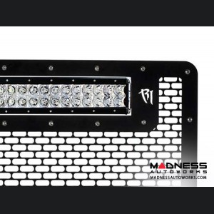 """GMC Sierra 2500/ 3500 30"""" RDS LED Light Bar Front Grille by Rigid Industries - 2015 - Light Included"""