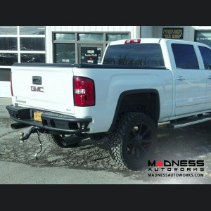 GMC Sierra 1500 Dimple R Rear Bumper by Addictive Desert Designs - 2014+