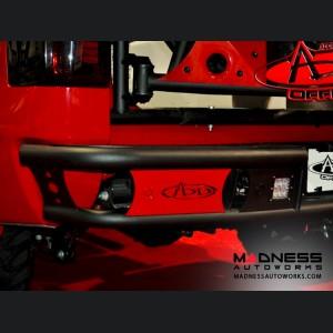 GMC Sierra 1500 Dimple R Rear Bumper by Addictive Desert Designs - 2014+