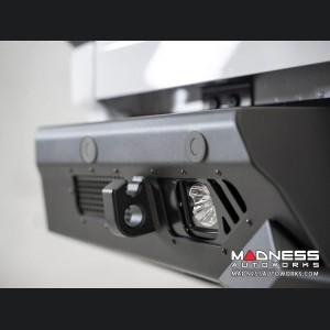 GMC Sierra 2500 Bomber Rear Bumper w/ Blind Spot and Backup Sensor Cutouts