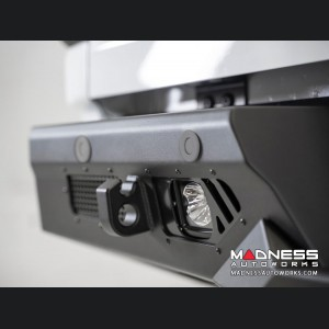 GMC Sierra 2500 Bomber Rear Bumper w/ Backup Sensor Cutouts