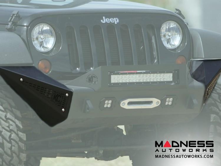 Jeep Wrangler JK Stealth Fighter Side Pods by Addictive Desert Designs - 2007+