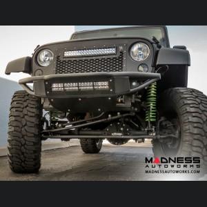 Jeep Wrangler JK Venom Front Bumper by Addictive Desert Designs - 2007+