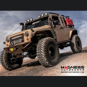 Jeep Wrangler JK Venom Front Bumper w/ Winch Mounts by Addictive Desert Designs - 2007+