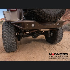 Jeep Wrangler JK Venom Rear Bumper by Addictive Desert Designs - 2007+