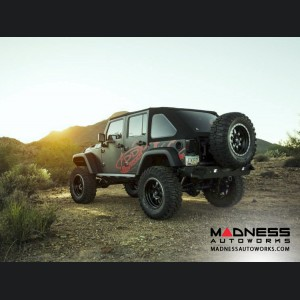 Jeep Wrangler JK Stealth Fighter Rear Bumper by Addictive Desert Designs - 2007+