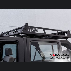 "Jeep Wrangler JK MAXRAX Roof Rack by Addictive Desert Designs - 48"" L x 55"" W x 5"" H"