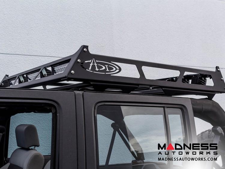 """Universal MAXRAX Roof Rack by Addictive Desert Designs - 48""""L x 52""""W x 5.25""""H - Full Sized Trucks"""