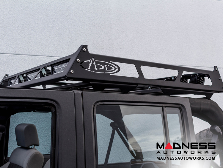 "Universal MAXRAX Roof Rack by Addictive Desert Designs - 48""L x 52""W x 5.25""H - Full Sized Trucks"
