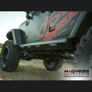 Jeep Wrangler JK Stealth Fighter Side Steps by Addictive Desert Designs - 4 Door - 2007+