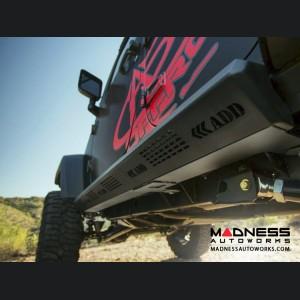 Jeep Wrangler JK Stealth Fighter Side Steps by Addictive Desert Designs - 4 Door - 2007+
