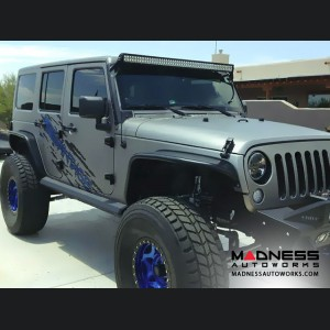 Jeep Wrangler JK Stealth Fighter Side Steps by Addictive Desert Designs - 2 Door - 2007+