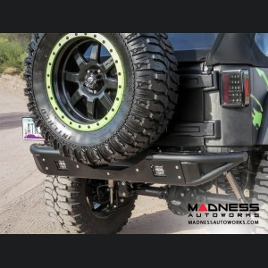 Jeep Wrangler JK Venom Tailgate Tire Carrier by Addictive Desert Designs - 2007+