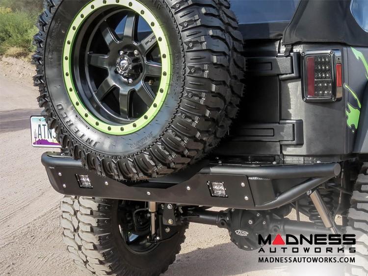 Jeep Wrangler JK Venom Tailgate Tire Carrier by Addictive Desert Designs - 2007+