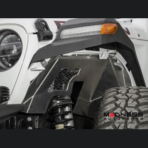 Jeep Wrangler JL Rock Fighter Inner Fender Liner - Front