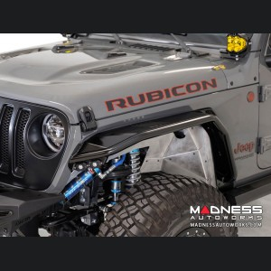 Jeep Wrangler JL Tube Fenders - Stealth Fighter - Front - w/o Turn Signal / Running Lights