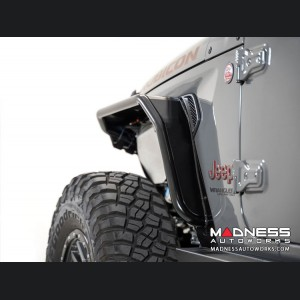 Jeep Gladiator JT Tube Fenders - Stealth Fighter - Front - w/o Turn Signal / Running Lights