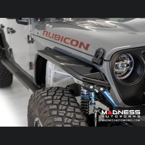 Jeep Wrangler JL Tube Fenders - Stealth Fighter - Front - with Turn Signal / Running Lights
