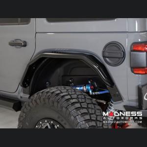 Jeep Wrangler JL Tube Fenders - Stealth Fighter - Rear