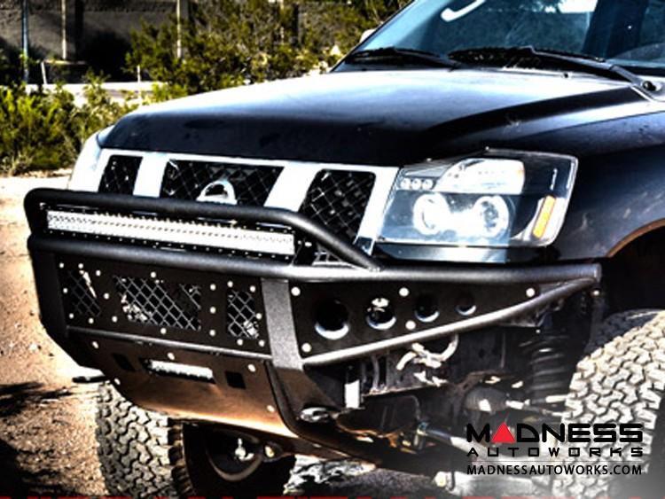 Nissan Titan Stealth Front Bumper by Addictive Desert Designs - 2004-2014