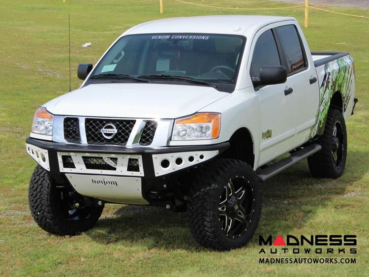 Nissan Titan Venom Front Bumper by Addictive Desert Designs - 2004-2014