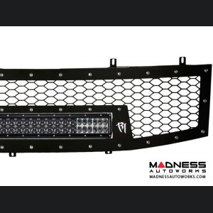 Nissan Titan LED Light Front Grille by Rigid Industries - (2004- 2014)
