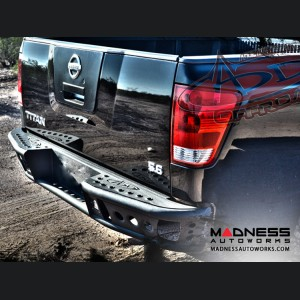 Nissan Titan Dimple R Rear Bumper by Addictive Desert Designs - 2004-2014