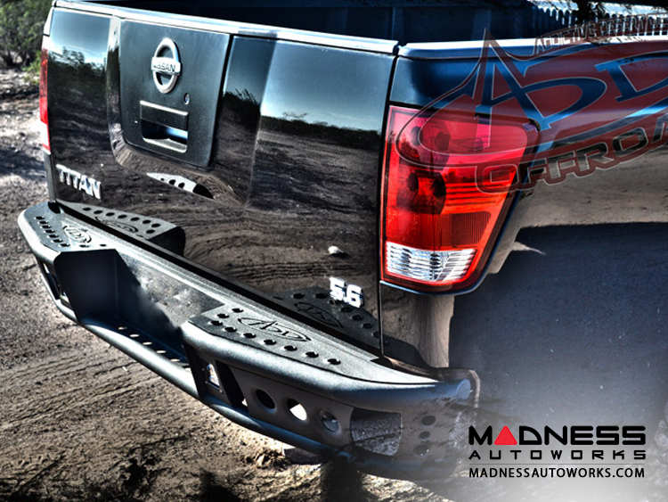 Nissan Nissan Titan Dimple R Rear Bumper By Addictive Desert