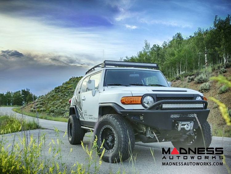 Toyota FJ Cruiser Stealth Fighter Front Bumper by Addictive Desert Designs - (2007-2014) - No Winch Mount