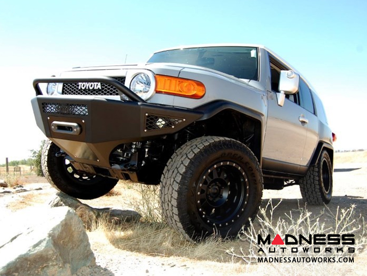 Toyota FJ Cruiser Stealth Fighter Front Winch Bumper by Addictive Desert Designs - (2007-2014)