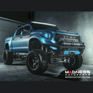 Toyota Tundra Honey Badger Front Bumper w/ Winch Mount by Addictive Desert Designs - 2014+
