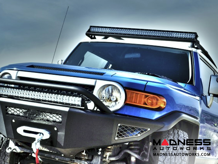 Toyota toyota fj cruiser 50 straight light bar roof mount by toyota fj cruiser 50 straight light bar roof mount by addictive desert designs mozeypictures Choice Image
