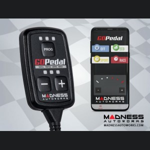 Alfa Romeo 4C Throttle Controller - MADNESS GOPedal - Bluetooth